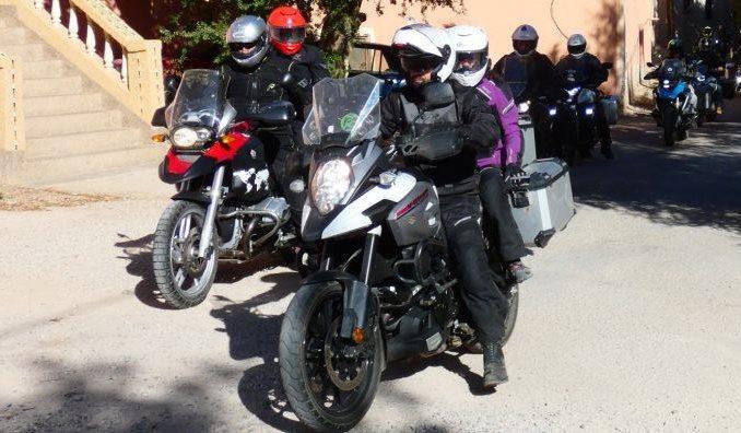 Viajes en moto en Pareja