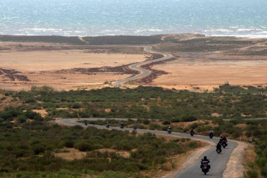 Viaje Costa Atlántica en moto