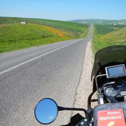 Viaje en moto Ouzoud