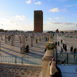 Mausoleo Mohamed V Viaje en moto