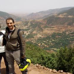 Viaje en Moto Marruecos Palmeral