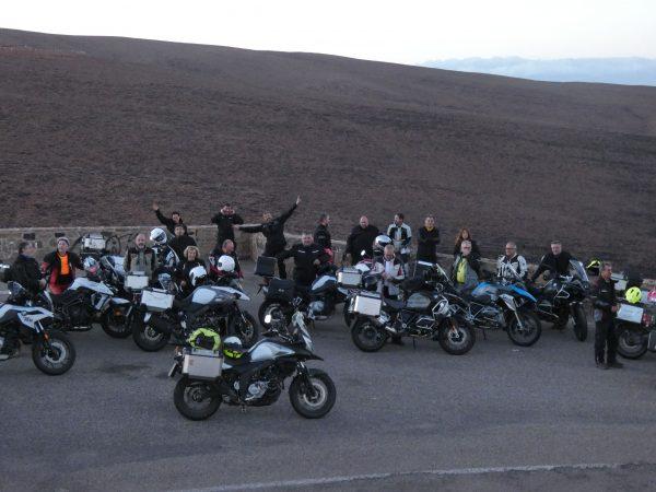 Grupo de viaje en Anti Atlas y Erg Chegaga