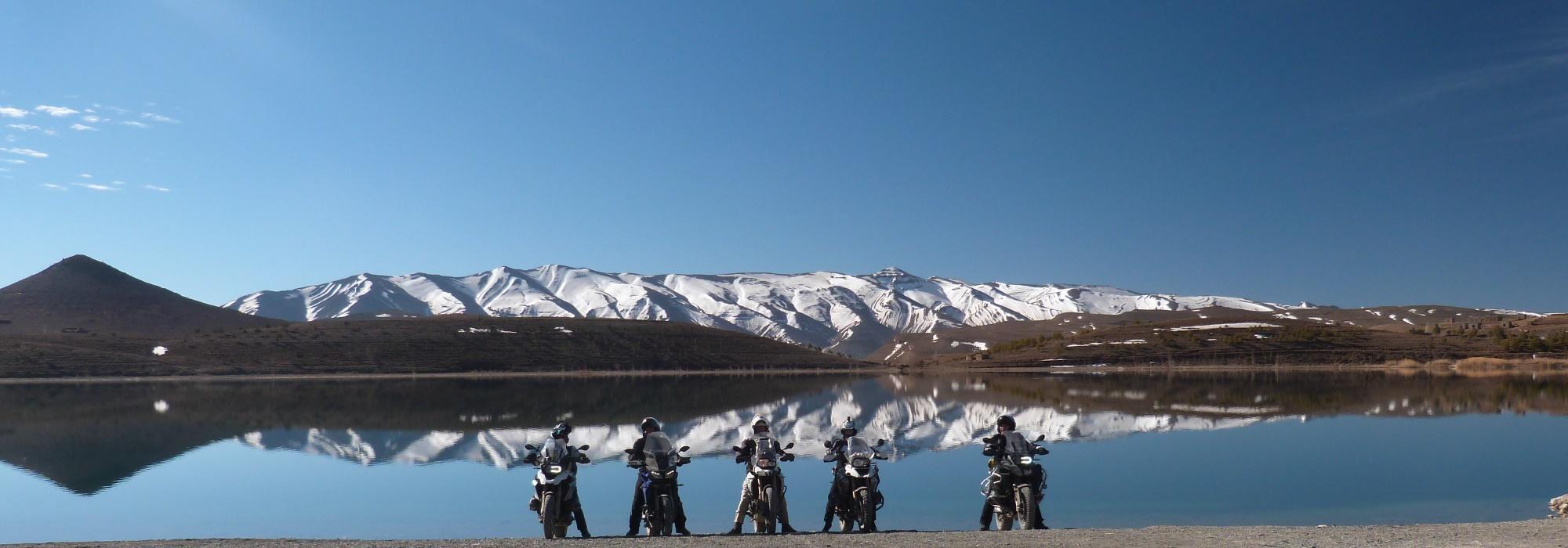 Viaje en Moto Interior de Marruecos