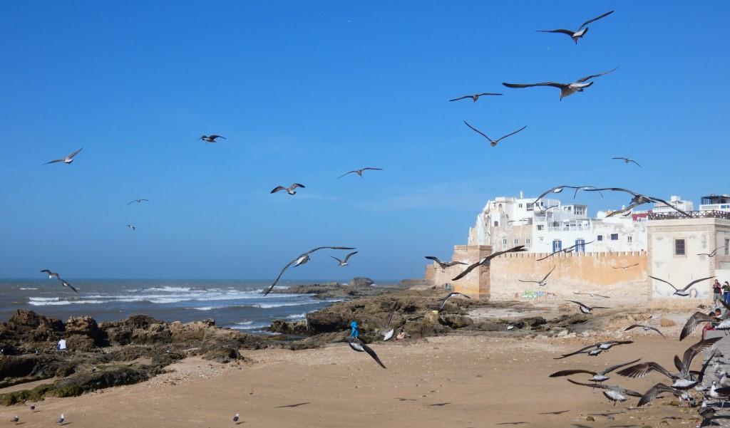 Essauira en la Costa Atlántica Marroquí