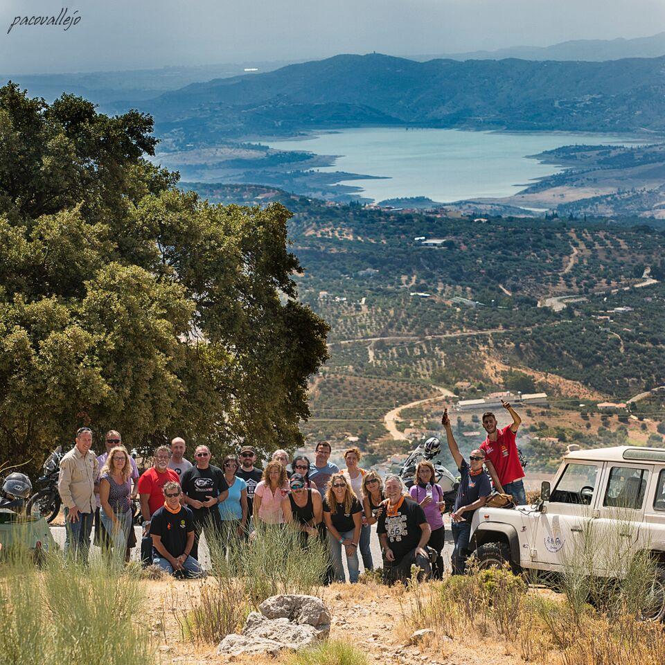 Viaje en Moto por Málaga